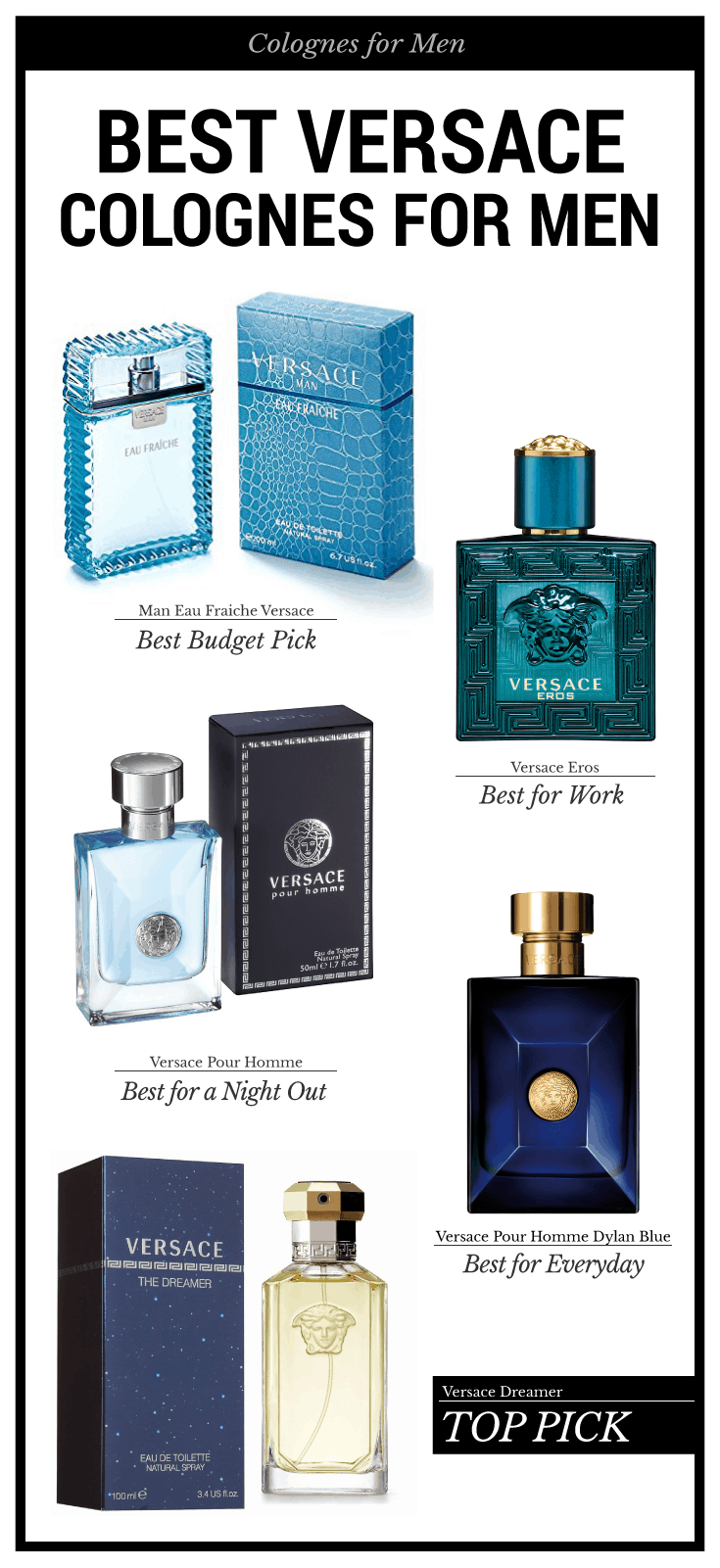 What Is The Best Smelling Versace Mens Cologne
