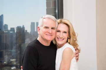 Dr. Neal Schultz and wife Amy Wayne Schultz
