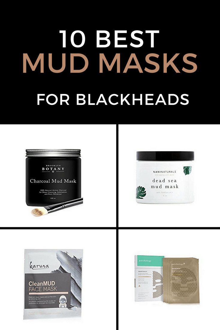 10 Best Mud Masks for Blackheads | Blackheads can be stubborn and difficult to get rid of and with men's thicker stick, we need masks that penetrate deeply into the skin.  Masks made with Dead Sea mud, activated charcoal, or volcanic ashes go underneath the layers to remove oil and rid the skin of damaged caused by environmental factors.  To help you find a mask to suit your skin, we've reviewed some of the best blackhead clearing mud masks for men. #mudmask #mask #blackheads #skincare