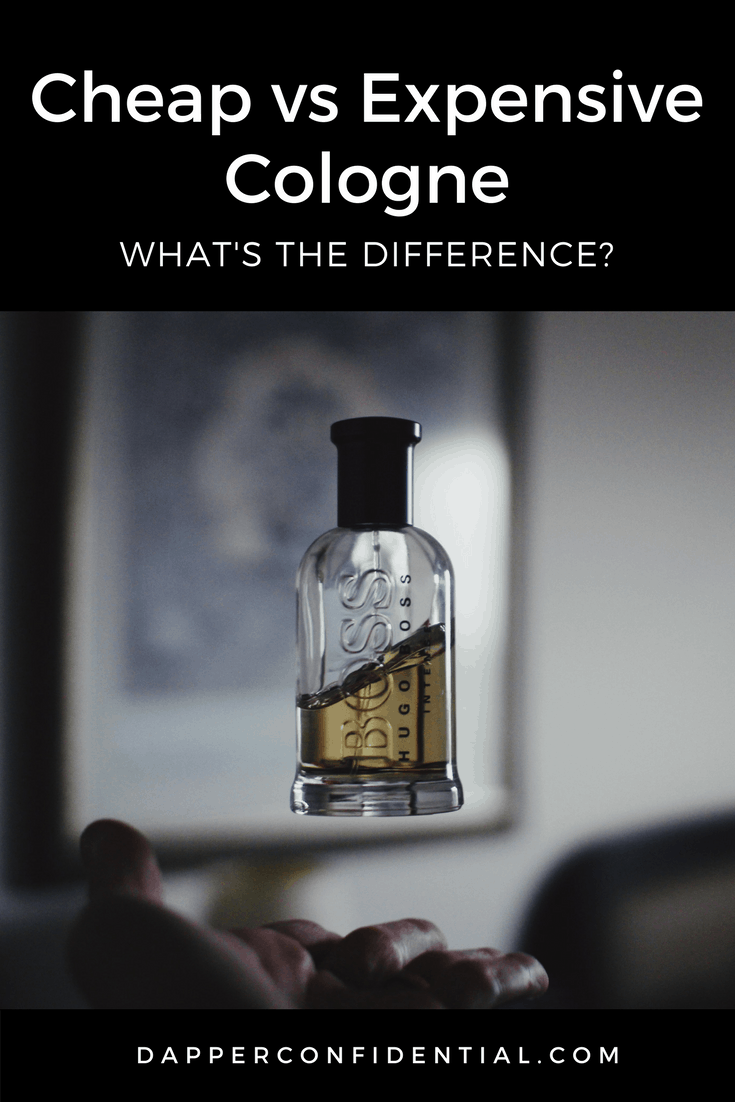 One of the easiest ways to tell the difference between cheap and expensive cologne is the complexity and evolution of the scent. For both, the top note (what you smell in the first 30 minutes) tend to be very similar, however as the fragrance lingers and evolves mind or heart notes come to the fore along with base notes. Read more on the blog. #cologne #men #perfume #grooming