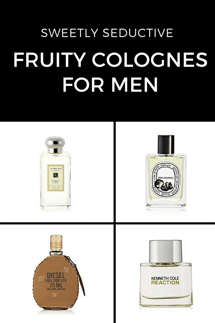 If you're like most guys, you probably don't think you want to smell sweet and fruity. However fruit colognes are surprisingly versatile and sexy. #fragrance #men #wedding #cologne #summer