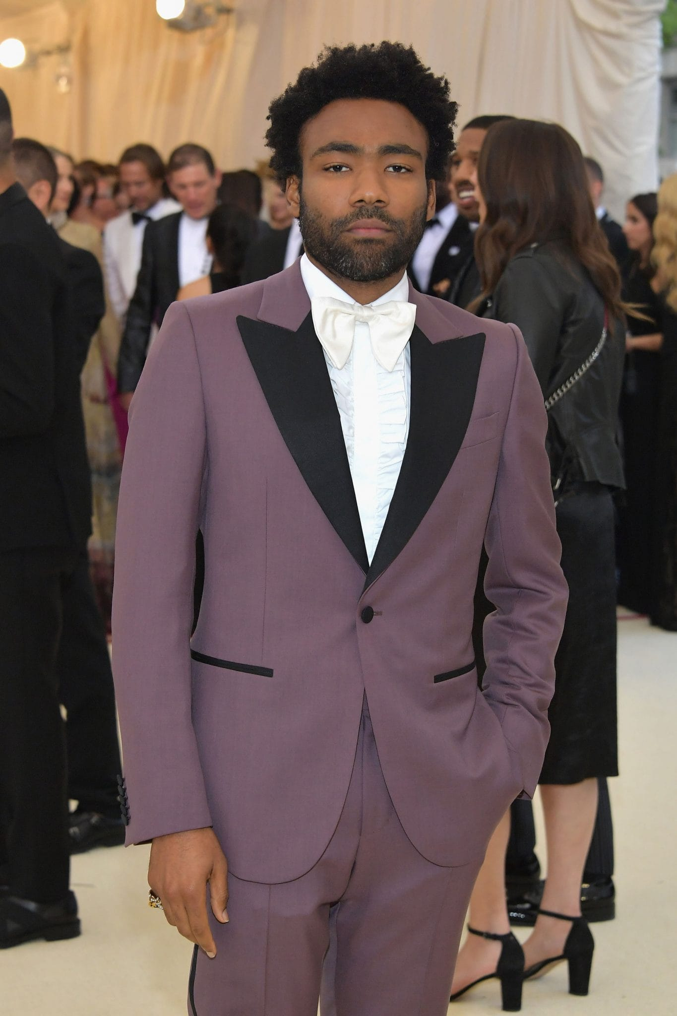 Donald Glover at the Met Gala 2018