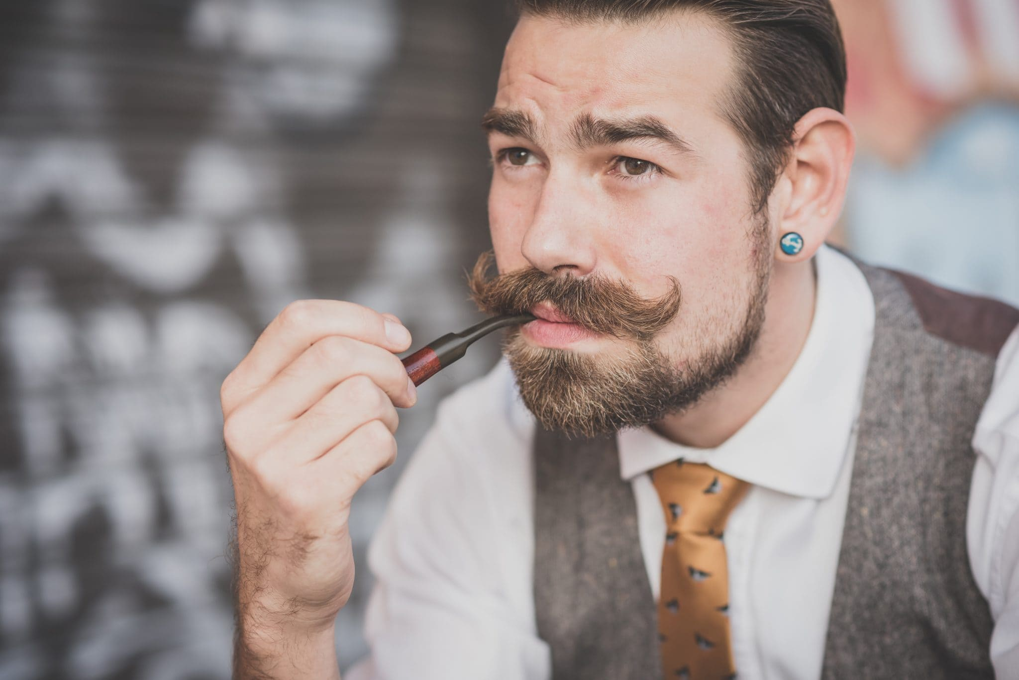Mustache And Goatee Care